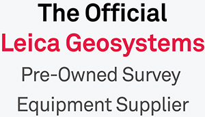 The Official Leica Geosystems Pre-Owned Equipment Supplier